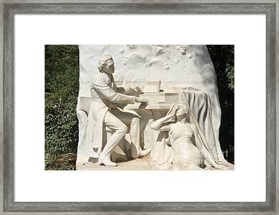 Chopin Monument II Framed Print