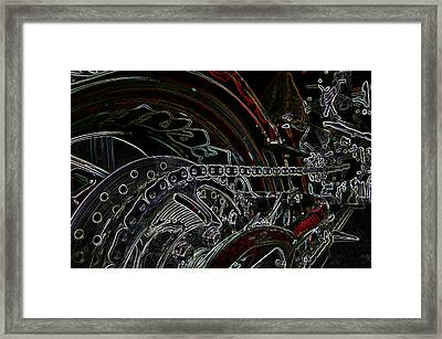 Chopped An Tron'd Framed Print by Travis Crockart
