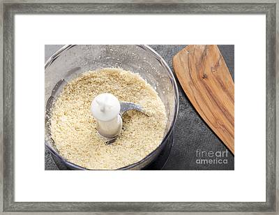 Chopped Nuts Framed Print