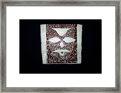 Christ - Cristu Framed Print