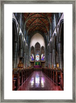Christ Church Cathedral Framed Print by Matt Dobson