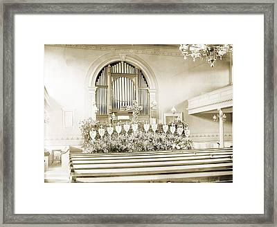 Christ Is King Framed Print