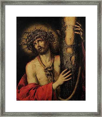 Christ Man Of Sorrows Framed Print