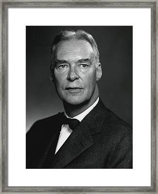 Christian Herter, Followed John Foster Framed Print by Everett