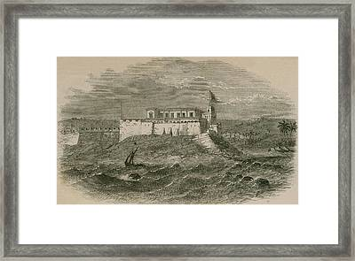 Christianborg Castle, On The Gold Coast Framed Print by Everett