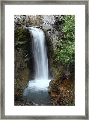 Christine Falls Framed Print by Angie Vogel