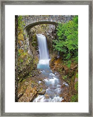 Framed Print featuring the photograph Christine Falls by Joe Urbz