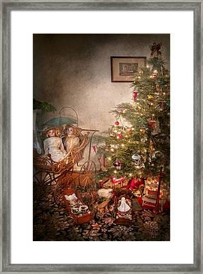 Christmas - My First Christmas  Framed Print