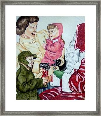 Christmas 1953 Framed Print
