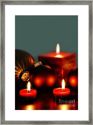 Christmas Card  Framed Print by HD Connelly