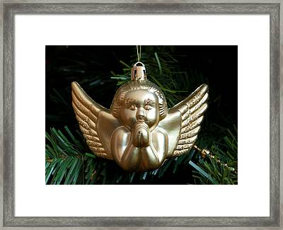 Christmas Decoration Framed Print by Hans Engbers