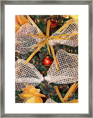 Christmas Decorations Framed Print by James Brunker