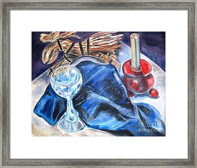 Christmas Eve Framed Print by Laurel Anderson-McCallum