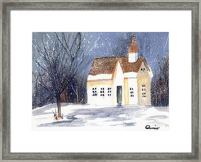 Christmas Eve Framed Print by Wendy Cunico