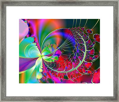 Christmas Fantasy Framed Print