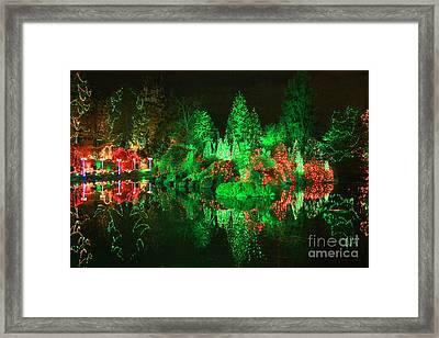 Christmas Fantasyland Framed Print by Frank Townsley