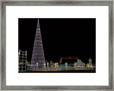 Christmas In Duluth Framed Print