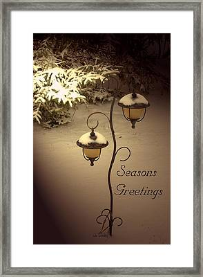 Christmas Lanterns 2 Framed Print