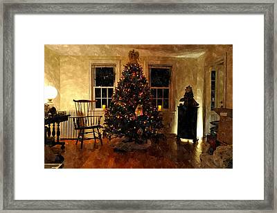 Christmas Past Cpwc Framed Print