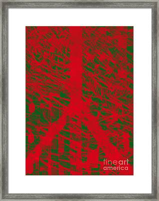 Christmas Peace Framed Print by Robert Haigh