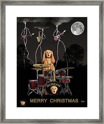 Christmas Rock Framed Print by Eric Kempson