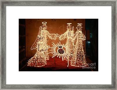Christmas Scene Framed Print by Gaspar Avila