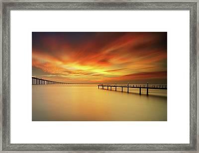 Christmas Sky Framed Print by CResende