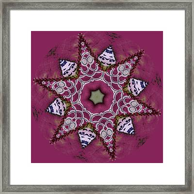 Christmas Star Framed Print by Bonnie Bruno