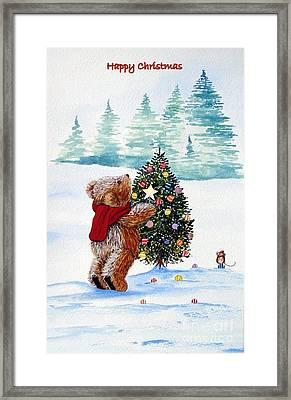 Christmas Star Framed Print by Gordon Lavender