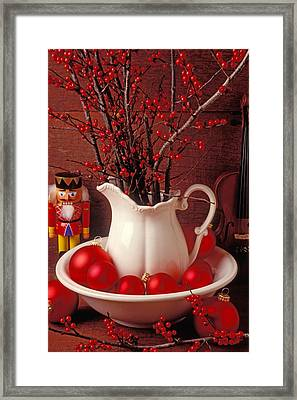 Christmas Still Life Framed Print