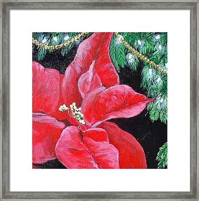 Christmas Time Framed Print by Melissa Torres