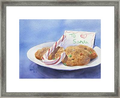 Christmas Traditions Framed Print by Bobbi Price