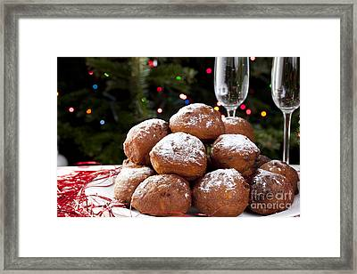Christmas Treats Framed Print by Charlotte Lake