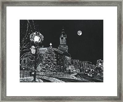 Christmastime Framed Print by Robert Goudreau