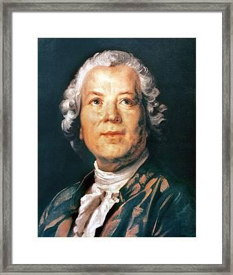 Christoph Willibald Gluck Framed Print by Granger