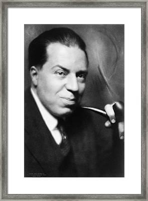 Christopher Morley 1890-1957 American Framed Print
