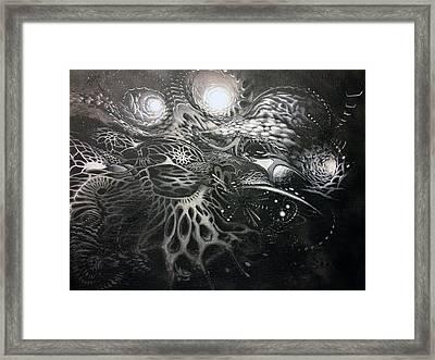 Chromanaught Framed Print by Adam Carsons