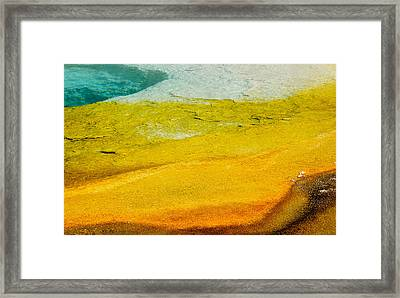 Chromatic Pool Framed Print by Andy-Kim Moeller