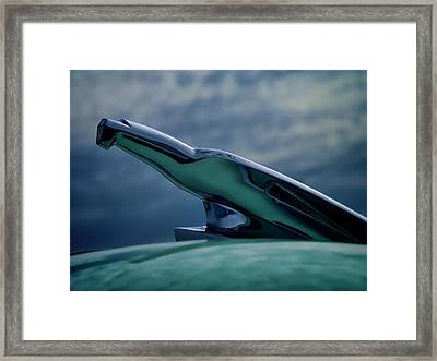 Chrome Eagle Framed Print by Douglas Pittman