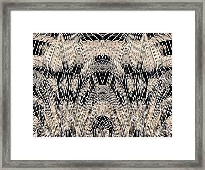 Chrome Framed Print by Tim Allen