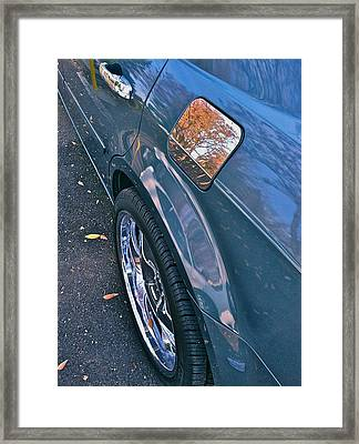 Chrome Tree Framed Print by Bill Owen