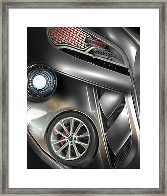 Chromed 1 Framed Print