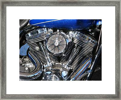 Chromed Jewel Framed Print by Samuel Sheats