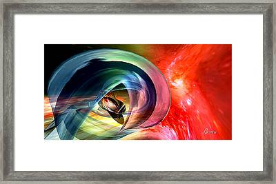 Chronos At Rest Framed Print by TaO Bona