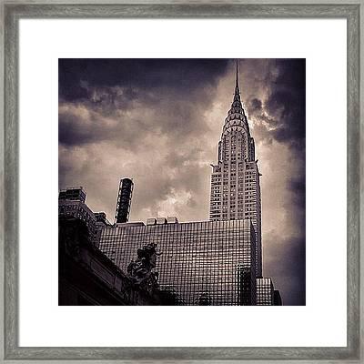 Chrysler Bldg. - New York Framed Print