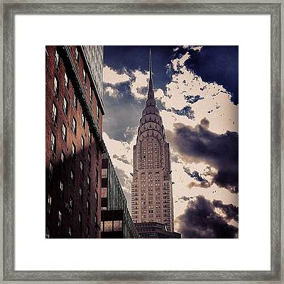 Chrysler Building - New York Framed Print