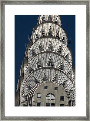 Chrysler Building - New York Framed Print by Martin Cameron