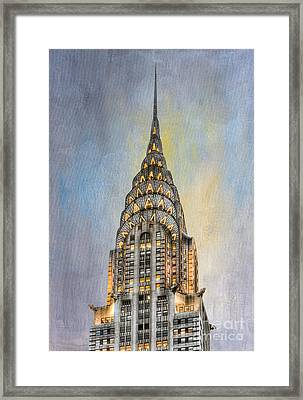 Chrysler Building I Framed Print by Clarence Holmes