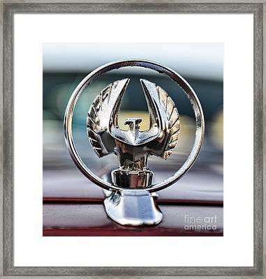 Chrysler Imperial Hood Ornament Framed Print by Paul Ward