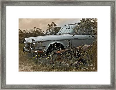 Chrysler Imperial Framed Print by Karen Lewis